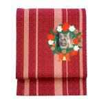 ミニョン袋帯「クリスマス/レッド」